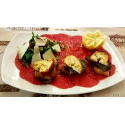 Carpaccio de filet de boeuf...